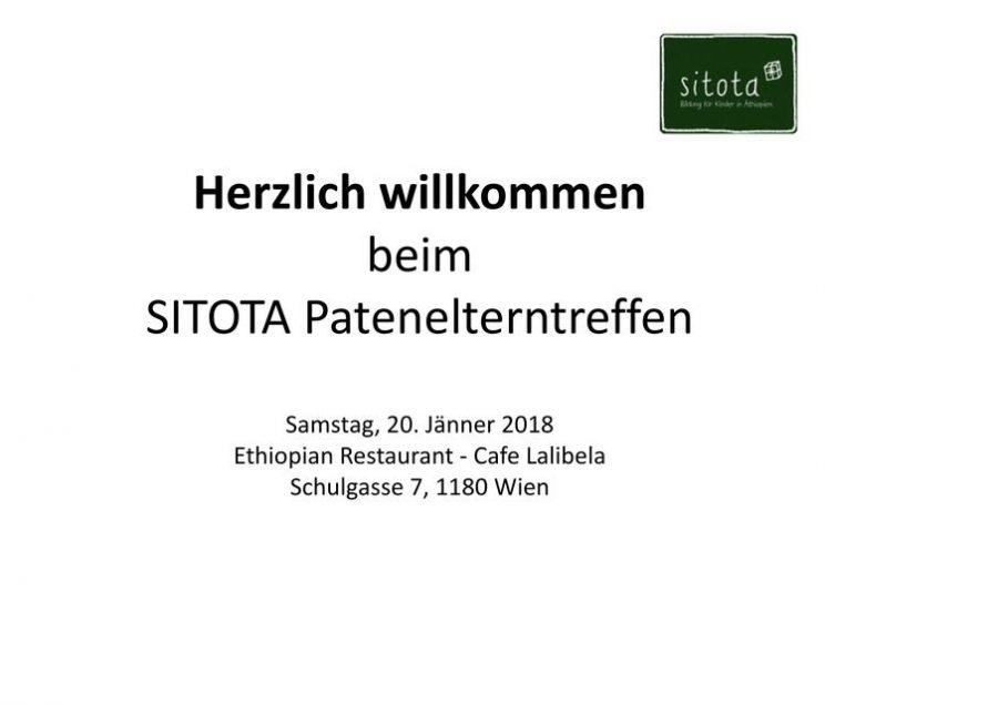 Präsentation Patenelterntreffen Jänner 2018
